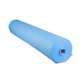 Одноразові простирадла Monaco Style 0,8 м х100 м.п., колір блакитний, щільність 20