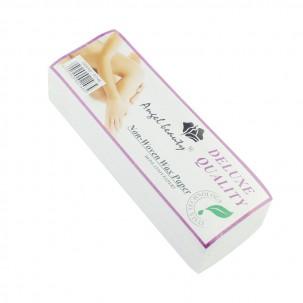 Полоски для депиляции  Non-woven Wax paper, 7х20 см, 100 штук в упаковке