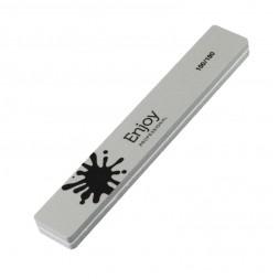 Шлифовщик для ногтей Enjoy Professional 100/180 Buff, серый