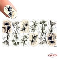 Слайдер-дизайн 1317 Цветы, акварель