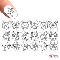Слайдер-дизайн Д 180 Орнамент, Животные