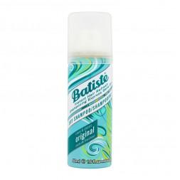 Сухий шампунь для волосся - Batiste Dry Shampoo, Original clean classic, 50 мл