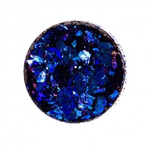 Зеркальная втирка Юки 03 северное сияние, цвет синий, 0,2 г