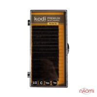Ресницы Kodi professional Butterfly C 0.03 (16 рядов: 10-11 мм)