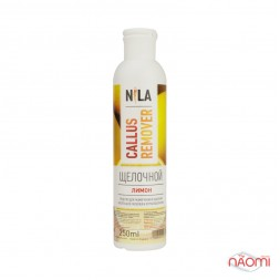 Щелочной пилинг для педикюра Nila Callus Remover Лимон, 250 мл