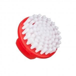 Щетка круглая Kodi Professional для удаления пыли, красная