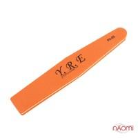 Шлифовщик для ногтей YRE PA 25, 100/100, ромб, цвет оранжевый