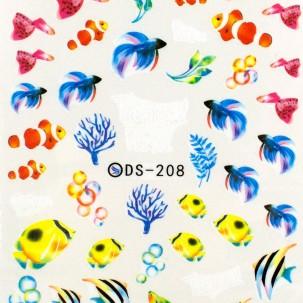 Слайдер-дизайн DS 208 Рыбки