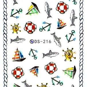Слайдер-дизайн DS 216 Море
