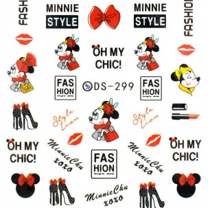 Слайдер-дизайн DS 299 Minnie Style