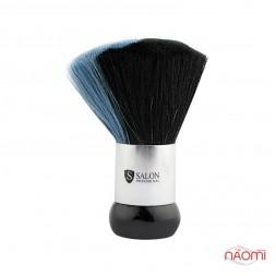 Мітелка для волосся Salon Professional велика, чорно-синя, ворс 6 см