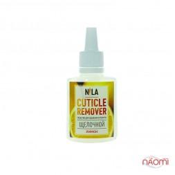 Кутикул ремувер щелочной для размягчения кутикулы Nila Лимон 30 мл