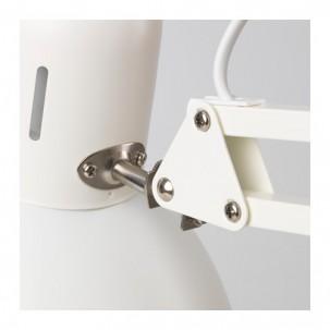 Лампа-штатив настольная IKEA Tertial, цвет белый