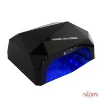 УФ LED+CCFL лампа Starlet Professional 36W, сенсорная, 10, 30 и 60 сек., цвет черный