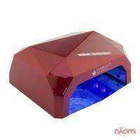 УФ LED+CCFL лампа Starlet Professional 36W, сенсорная, 10, 30 и 60 сек., цвет красный