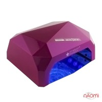 УФ LED+CCFL лампа Starlet Professional 36W, сенсорная, 10, 30 и 60 сек., цвет темно-розовый
