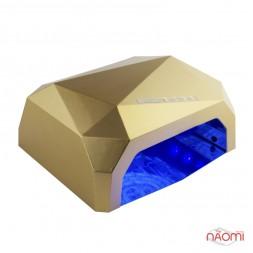 УФ LED+CCFL лампа Starlet Professional 36W, сенсорная, 10, 30 и 60 сек., цвет золото