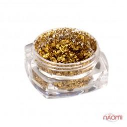 Зеркальная втирка Юки HG-2 Galaxy Holo, цвет золото, 0,2 г