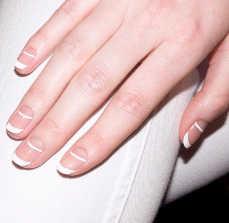 Ногти С Золотом Дизайн Фото